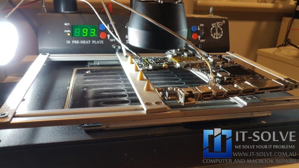 Macbook Pro Graphic Repair procedure