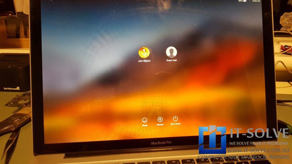 Repaired Macbook Pro Graphic Repair
