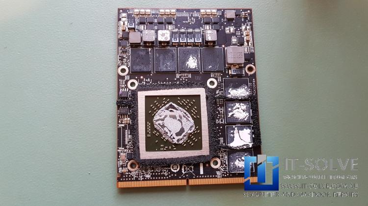 Graphics card of iMac needing a repair