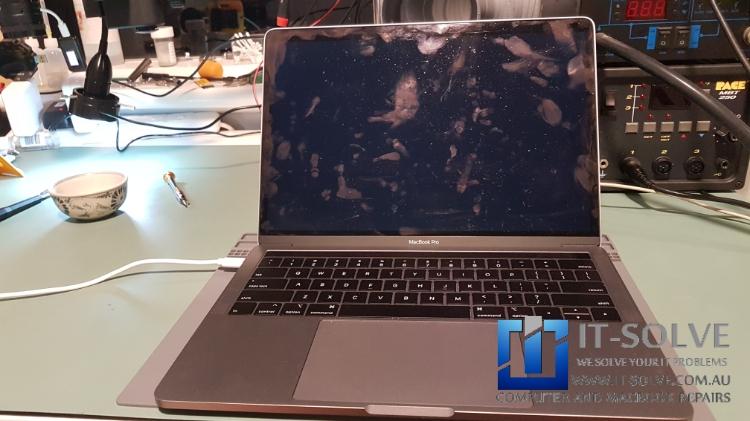 Water Damage Macbook Pro Repair