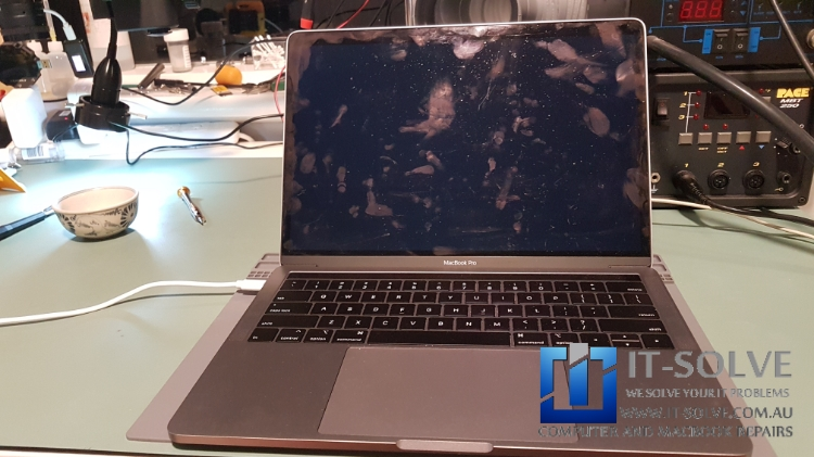 Water Damage Macbook Pro Repair