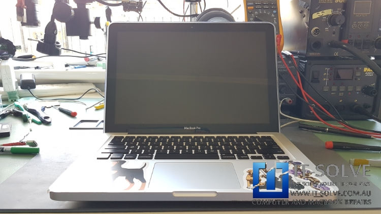 Water spilled Mac brought for a repair