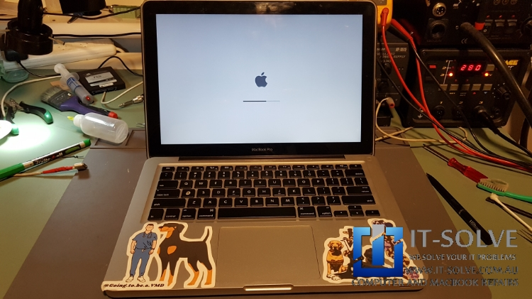 Water spilled Mac repair completed and ready to reunite with owner