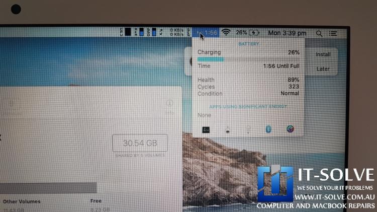 Macbook Battery charging after Macbook Charging Repair