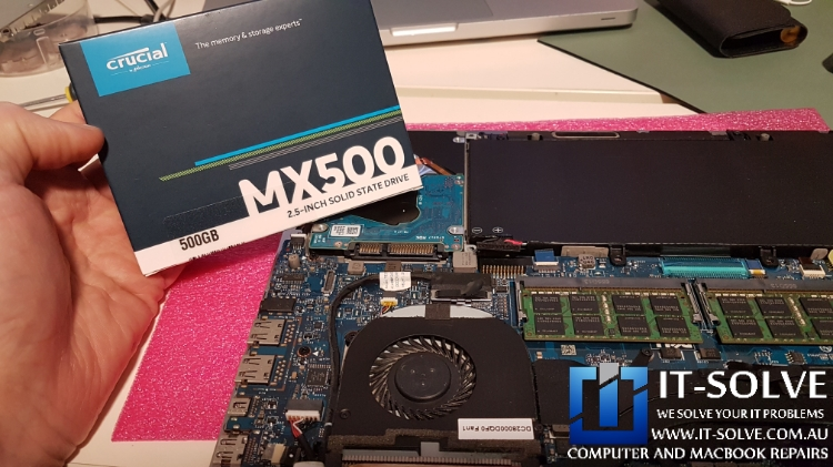 Replacing Failing HDD with a SSD drive - Dell Laptop Repairs