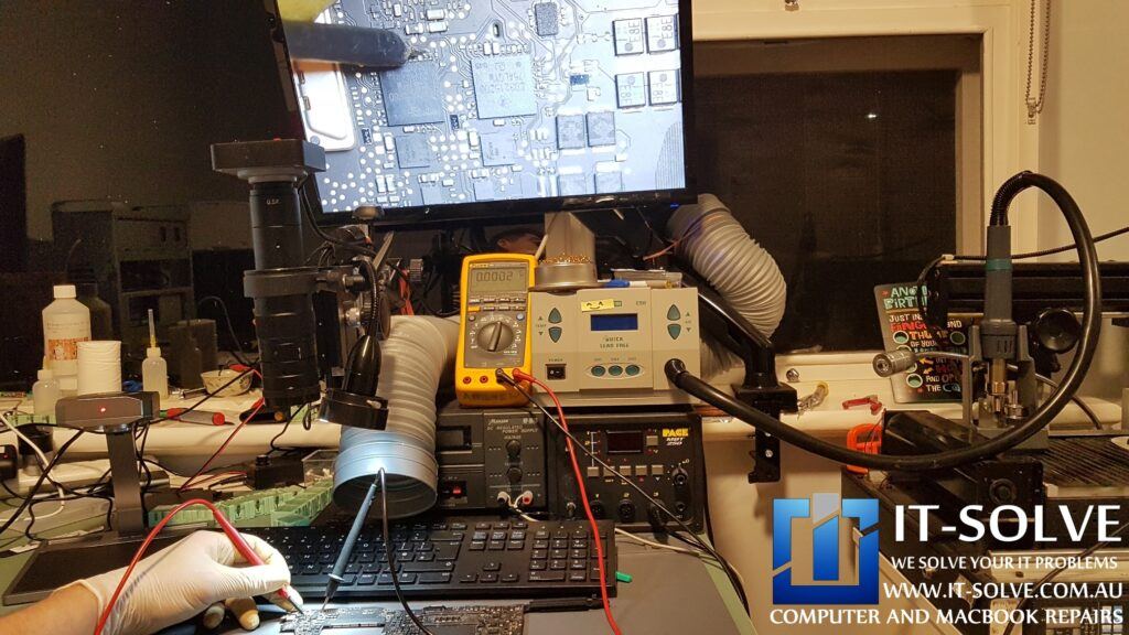 Our workshop is equipped with state of the art electronic repair equipment