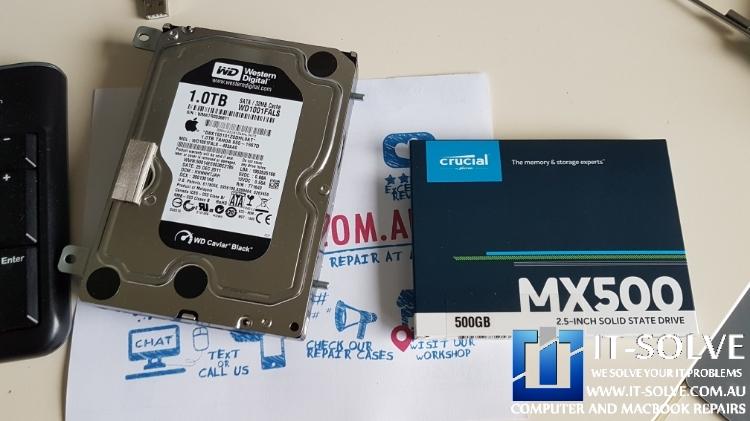 iMac SSD Upgrade - iMac not loading repair