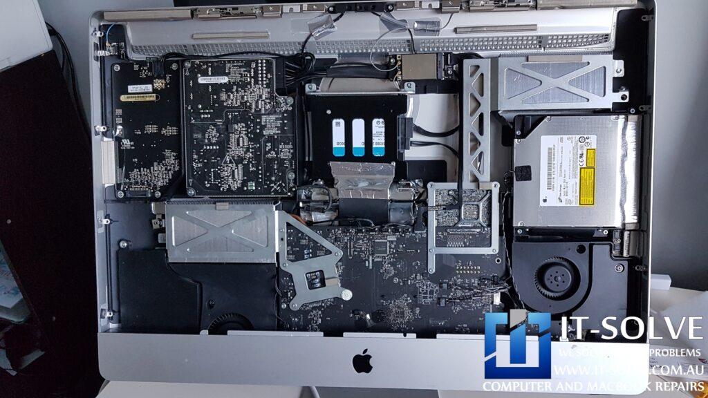 Slow iMac repair with SSD upgrade - iMac not loading repair