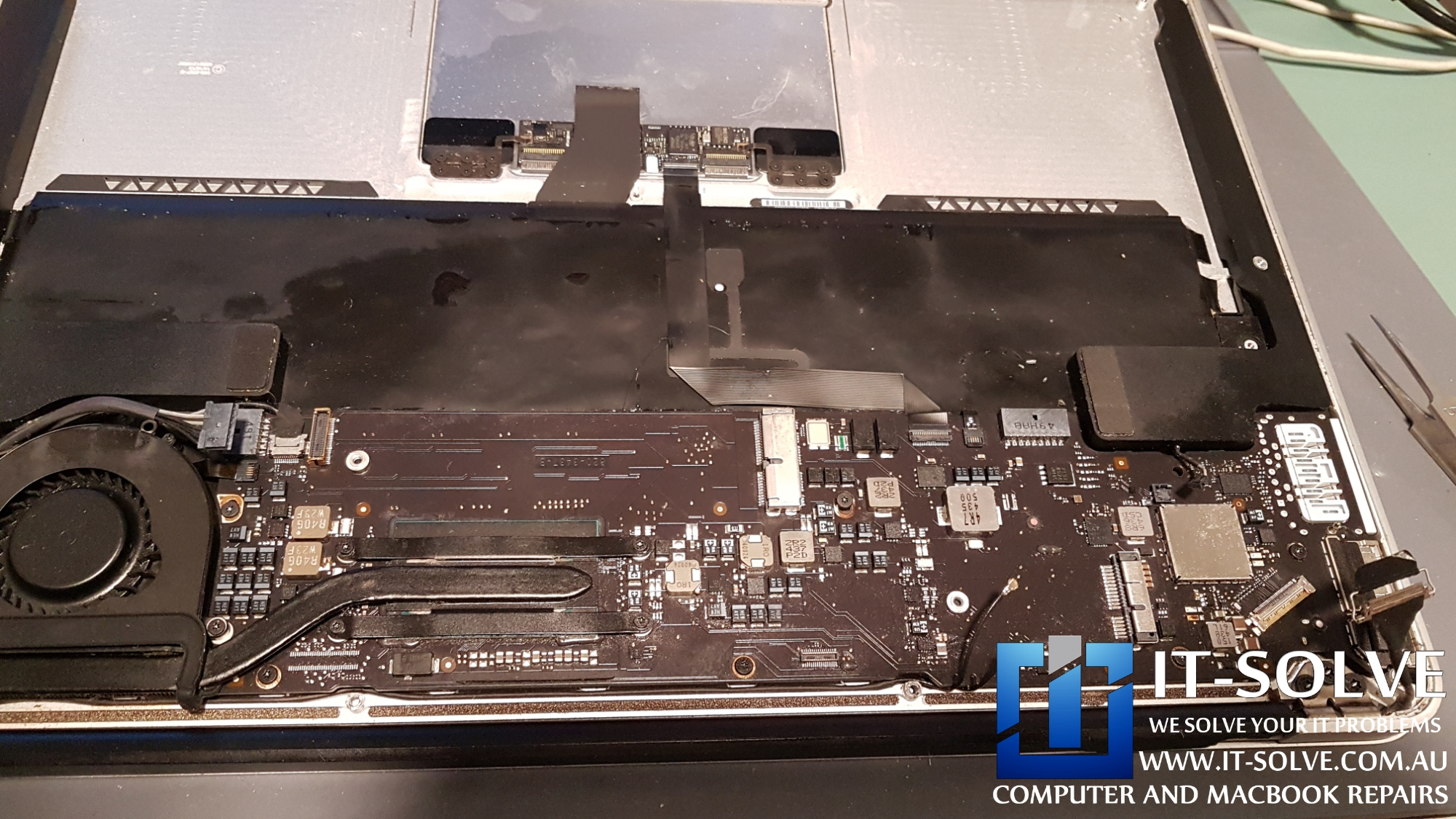 Macbook Air liquid damage repair