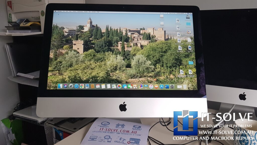 Repaired failed firmware update on iMac