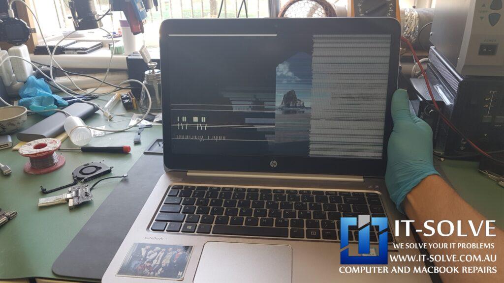 Flickering HP Elitebook Screen Repair