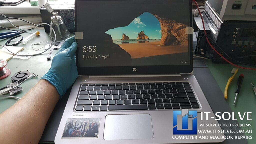 Successful HP Elitebook Flickering Screen Repair in Adelaide