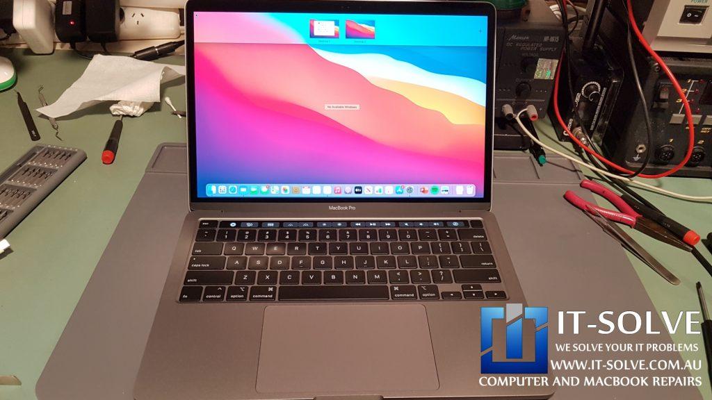 Replaced Macbook Touchbar Repair