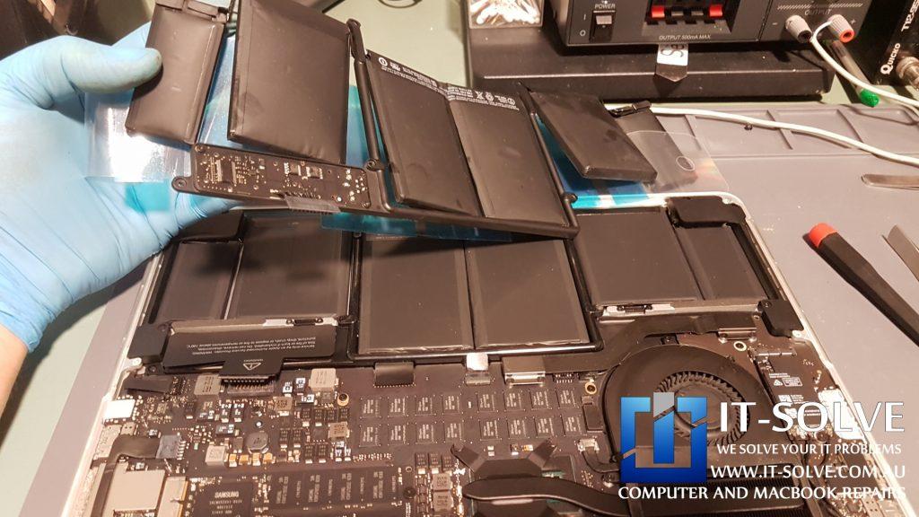 Macbook Swollen Battery Replacement in Adelaide