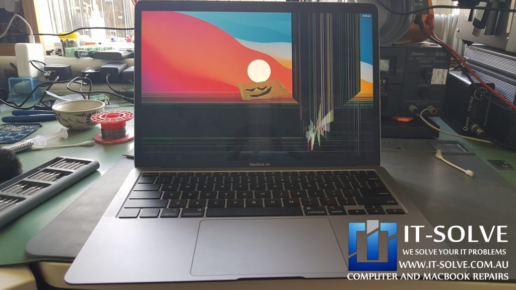 Macbook Air A2237 Cracked screen replacement