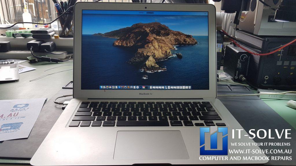 Macbook Air A1466 liquid damage again