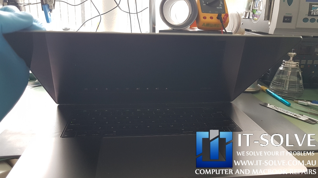 Macbook Pro 2018 Black Screen Repair