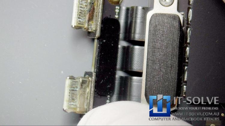 Macbook USB-C charging port repair