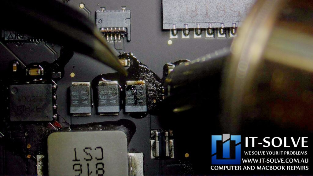 Cleaning and replacing corroded components