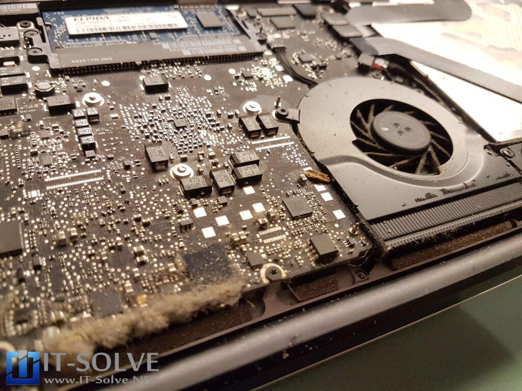 Overheating Macbook Repair